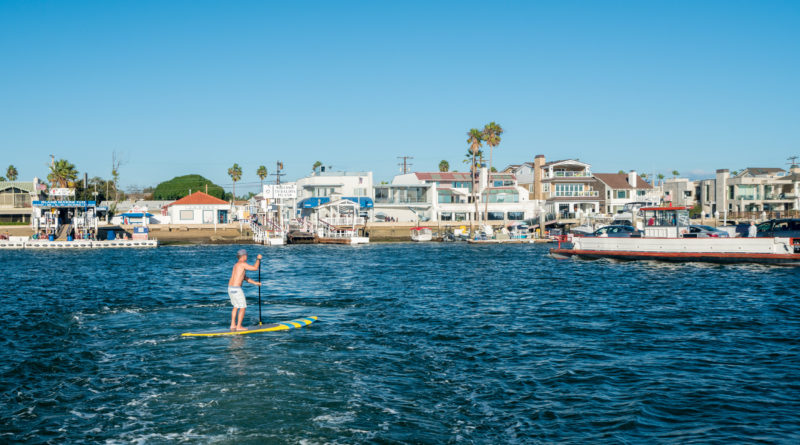 Standup Paddleboarder
