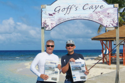 EXCURSION TO GOFF'S CAYE