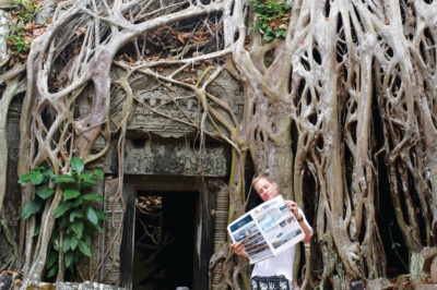 CHILLIN' AT THE KINGDOM OF TREES IN CAMBODIA