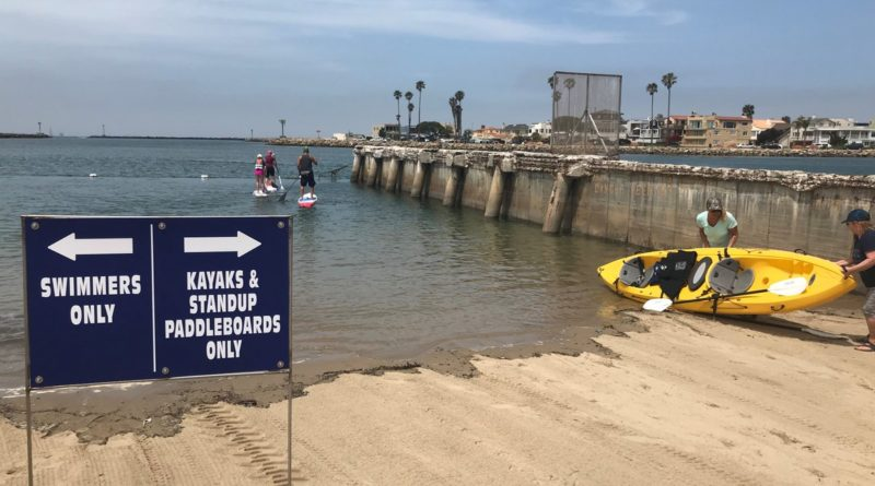 Channel Islands Harbor Kayak and paddleboard launch