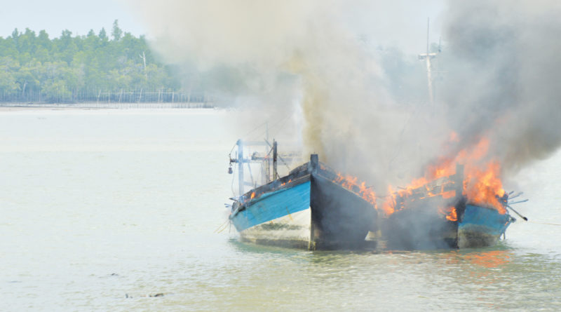 Illegal Fishing in Indonesia