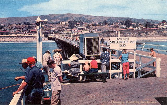 San Clemente Pier, 1950s
