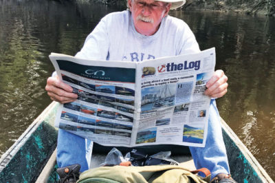 READING BREAK ON TAHUAYO RIVER