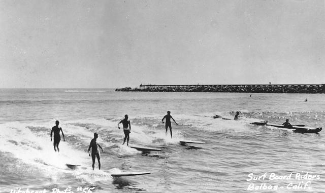 Corona Del Mar, 1950s