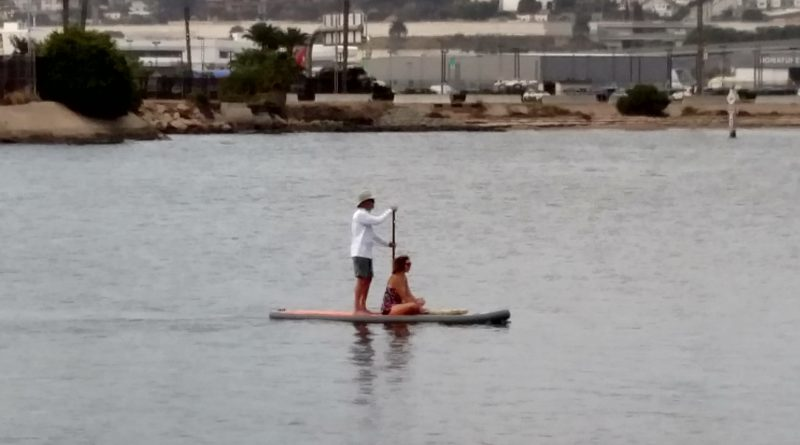 Paddleboard Couple