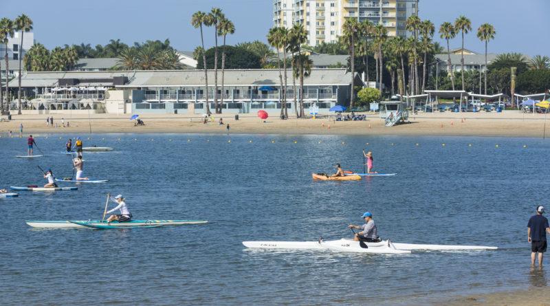 Marina del Rey Paddleboarding