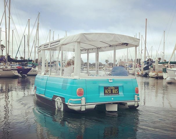 VW Bus Water Taxi