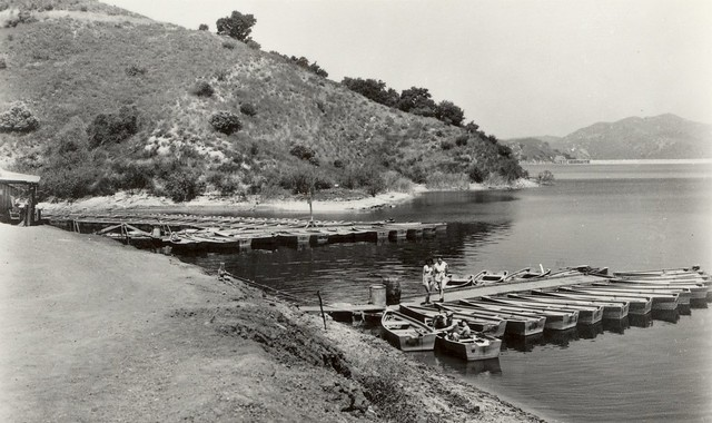 Irvine Lake, 1940s - Photo courtesy of Orange County Archives