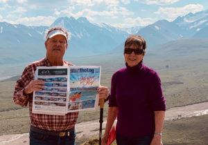 THE LOG AND READERS AMID THE ALASKA HEAT WAVE