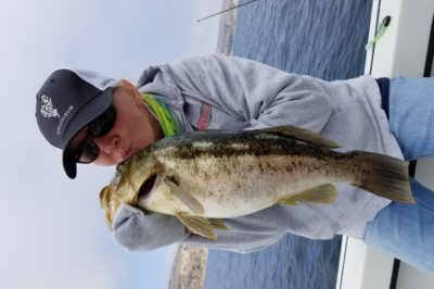 Kissing My Calico! Caught off Anacapa while fishing with my husband.
