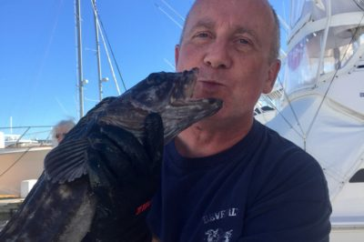 Phil's Ling Cod Kiss