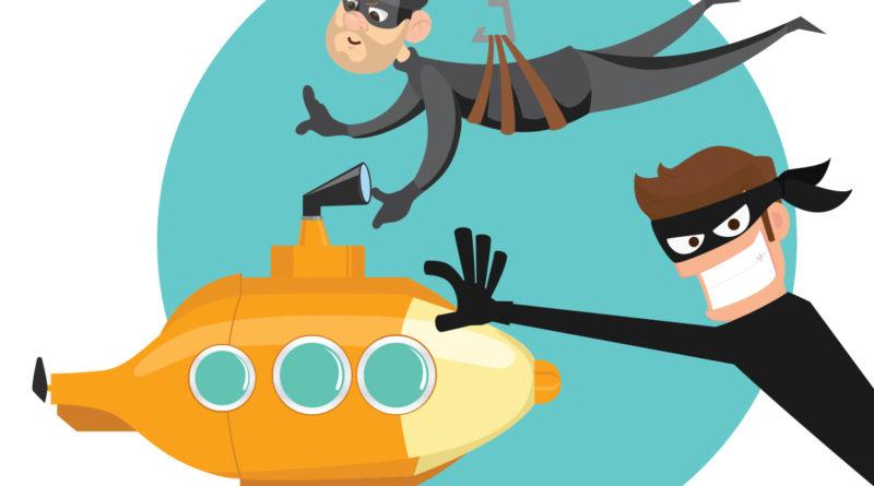 Submarine thief