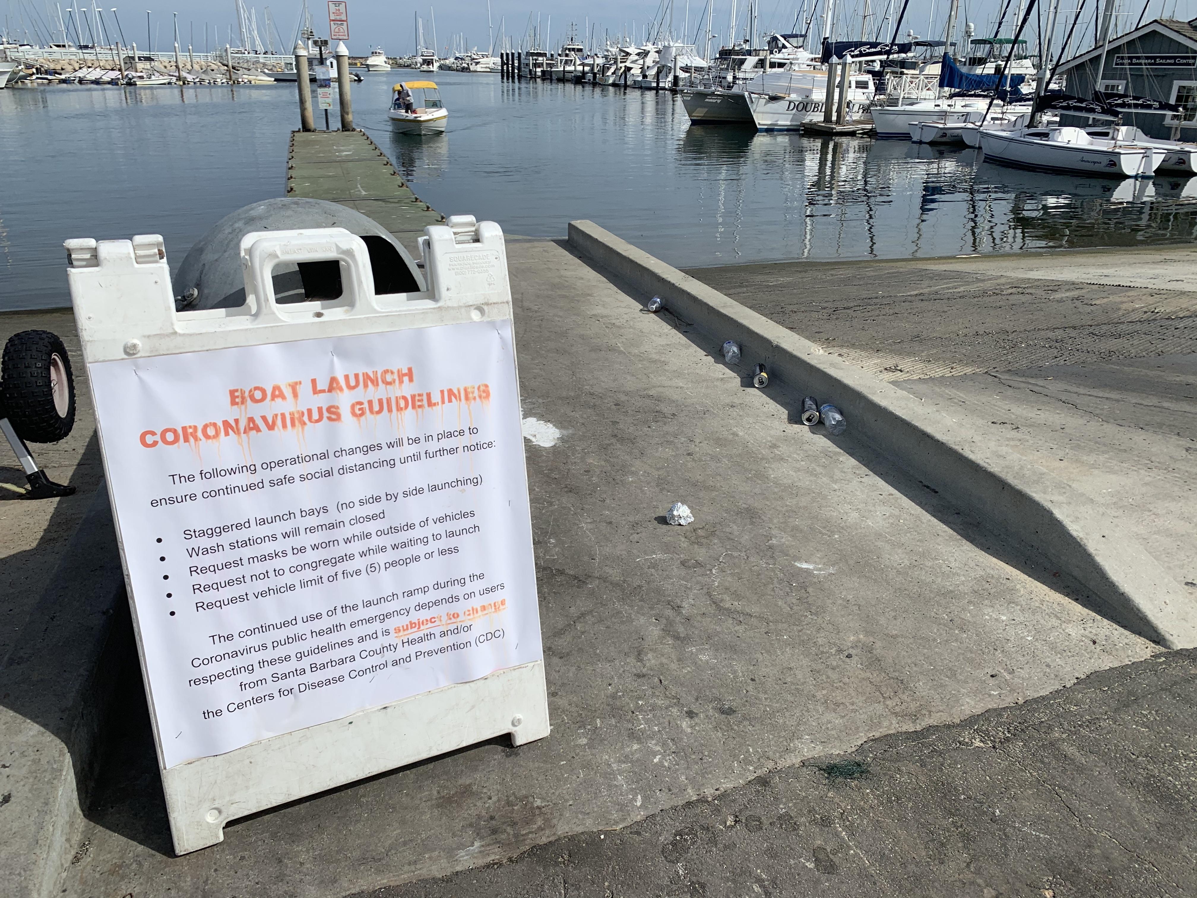Santa Barbara Boat Launch Ramp