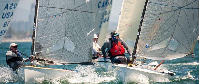 Finn Class Pacific Coast Championship on deck in San Diego