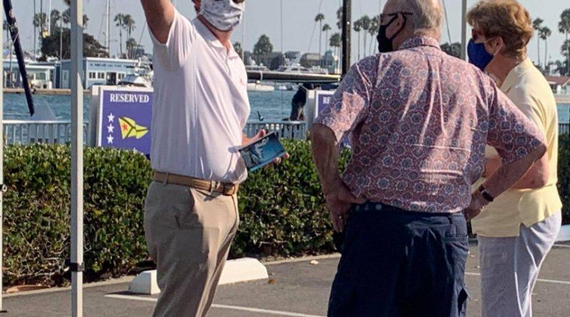 Long Beach Yacht Club send off