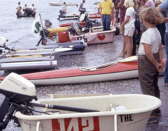 Bathtub races in Mission Bay 1973