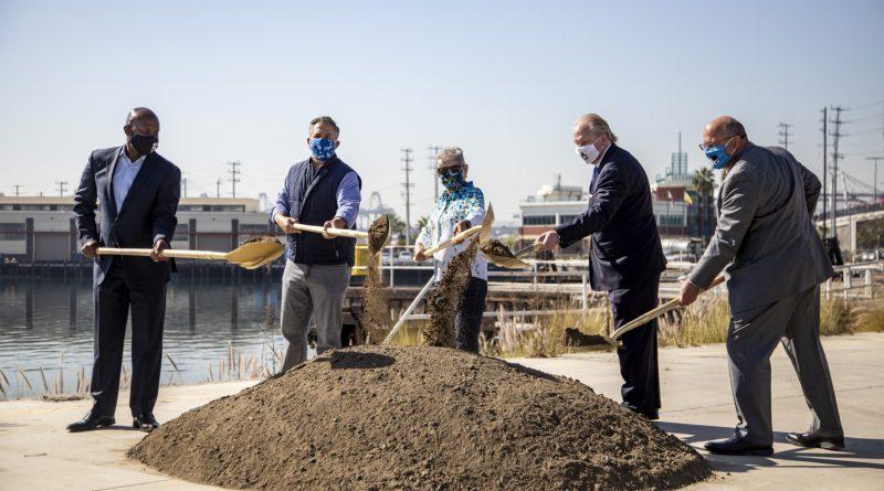 Wilmington Waterfront groundbreaking