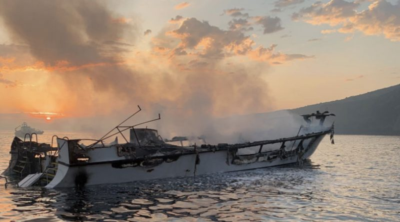 Conception dive boat fire