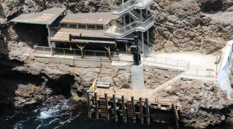 Anacapa dock