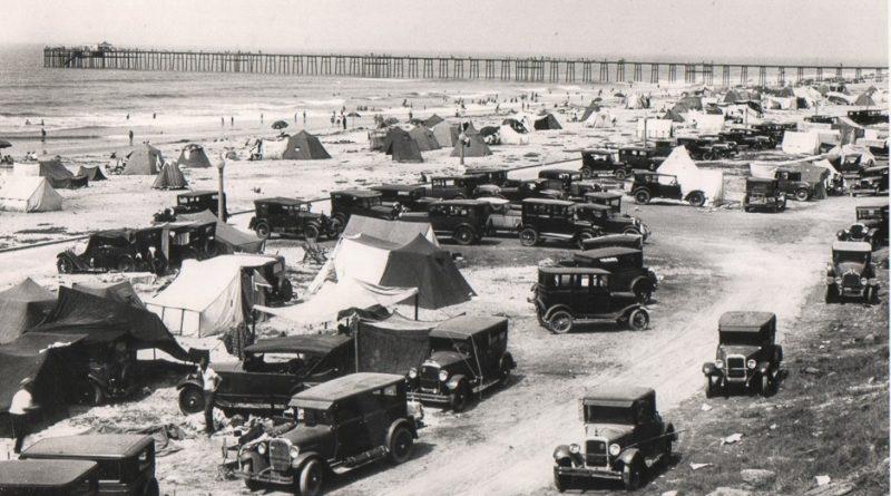 Oceanside Tent City 1930