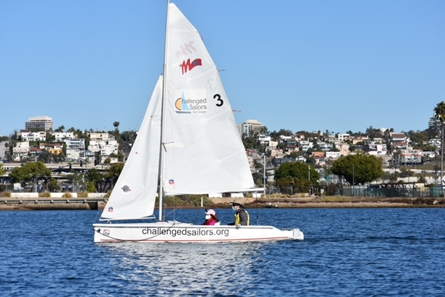 Provided by Challenged Sailors San Diego