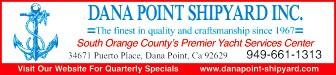 Dana Point Shipyard Advertisement
