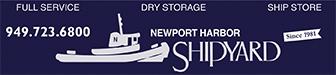 Newport Harbor Shipyard Advertisement
