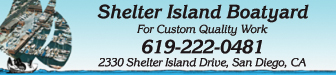 Shelter Island Boatyard Advertisement