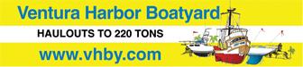 Ventura Harbor Boatyard Advertisement