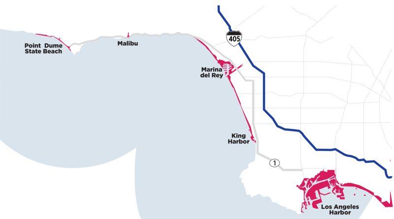 California Tsunami map