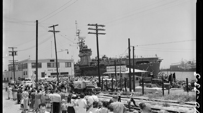 Port of Los Angeles historical photo