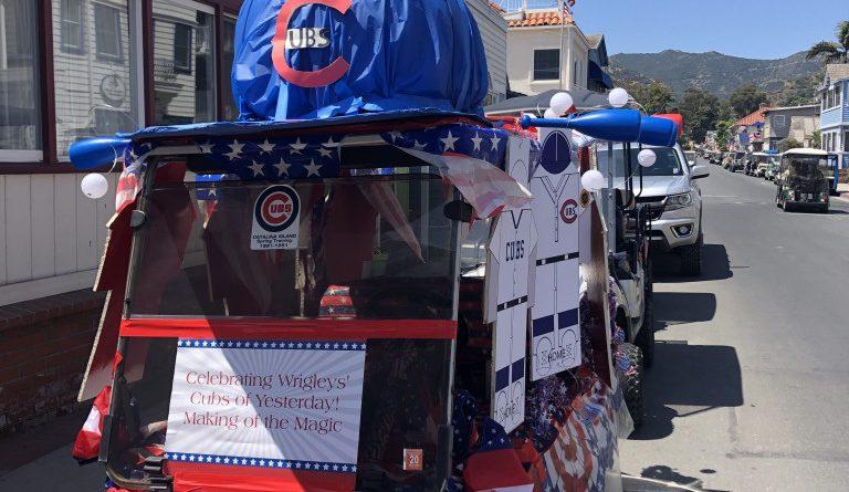 Catalina Island Patriotic Golf Cart Parade Fourth of July