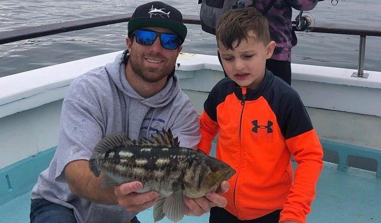 calico catch on Dana Wharf Sportfishing