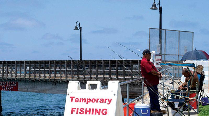 Oceanside Harbor Temporary Fishing Pier